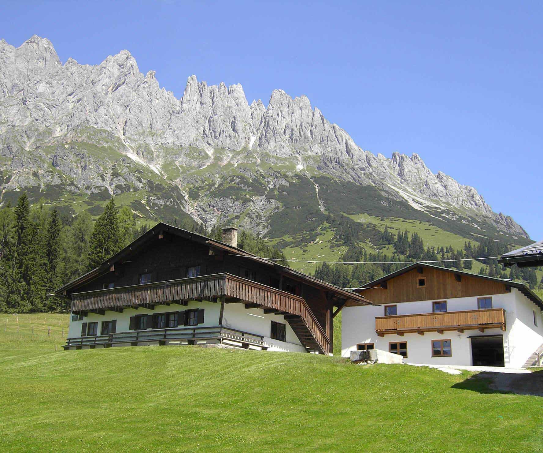 Ferienhäuser Mitterbergalm - Aussicht