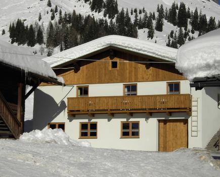 Haus 02 im Winter