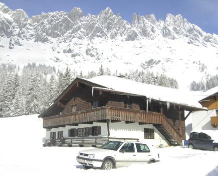 Haus 01 im Winter