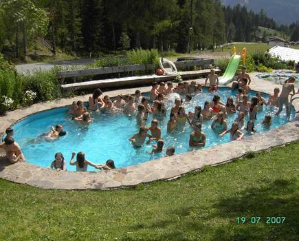 Spaß im Schwimmbad